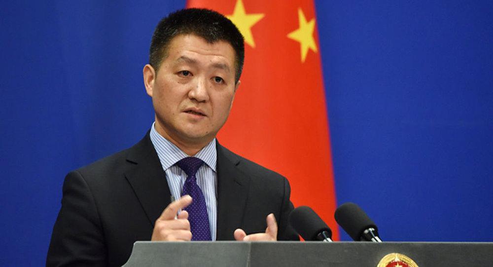 中國外交部發言人陸慷