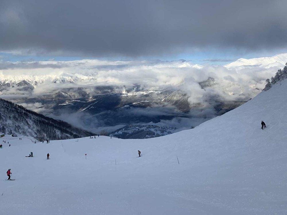 俄罗斯索契滑雪场