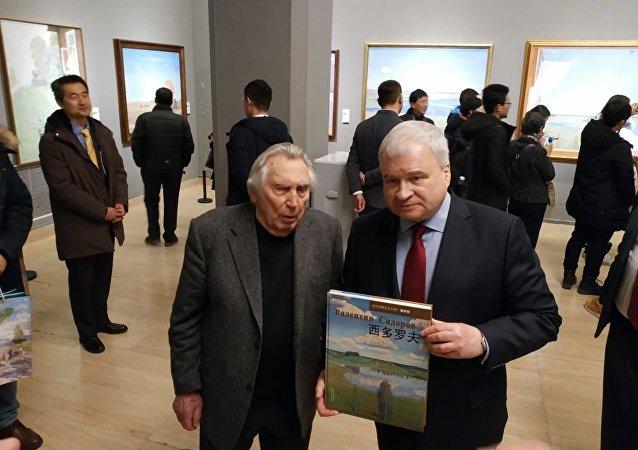俄駐華大使:俄中建交70週年之際將舉辦多場畫展