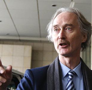 联合国特使希望在5月份就叙宪法委员会组建问题举行磋商