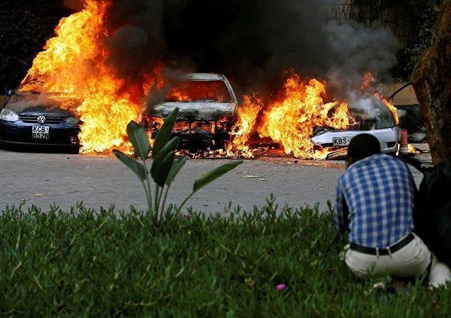 媒体:肯尼亚首都一家酒店附近发生爆炸和枪击事件