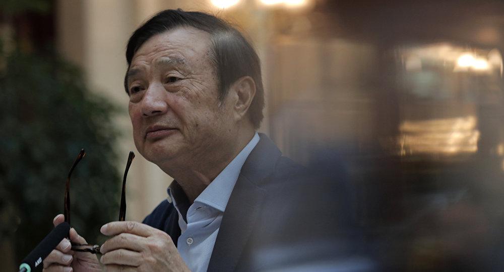 中国电信巨头华为公司创始人任正非