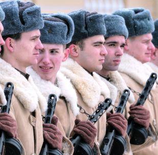 列宁格勒保卫战胜利75周年阅兵彩排