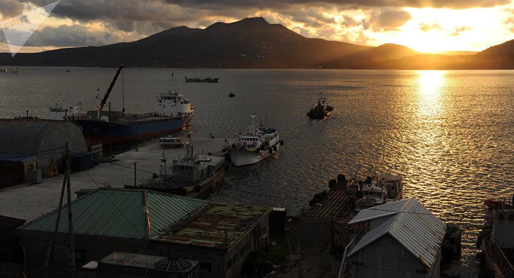 俄千島群島附近發生4.4級地震