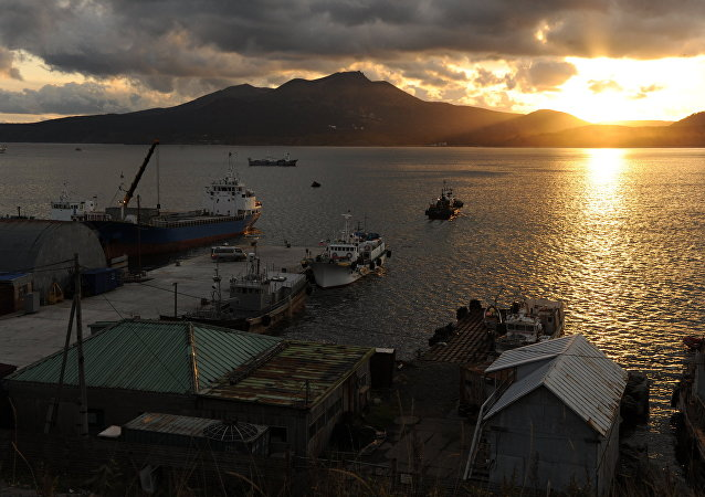 俄千岛群岛附近发生4.4级地震