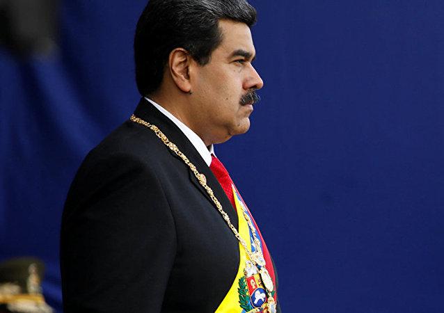 委内瑞拉总统尼古拉斯∙马杜罗