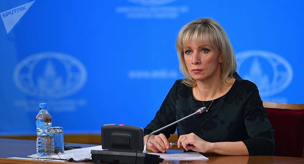 扎哈罗娃称不允许俄新社记者与利马集团会面是歧视