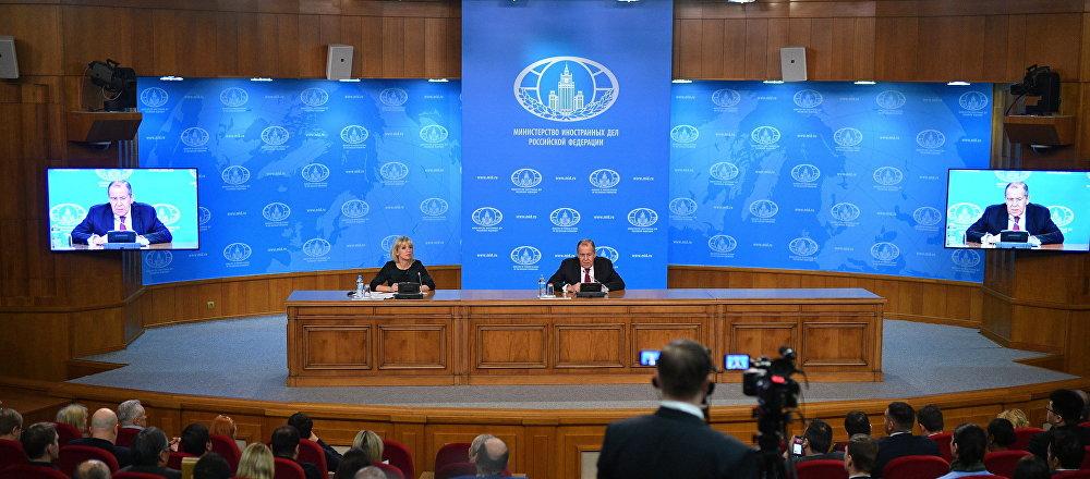 《中導條約》、制裁和俄中關係:拉夫羅夫做年度總結