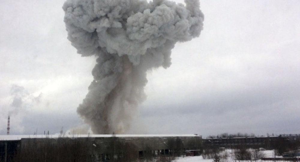 列寧格勒州一家工廠發生爆炸