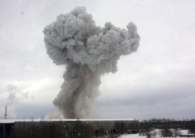 列宁格勒州一家工厂发生爆炸