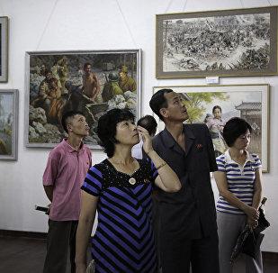 韓海關因聯合國制裁扣押九幅朝鮮畫作