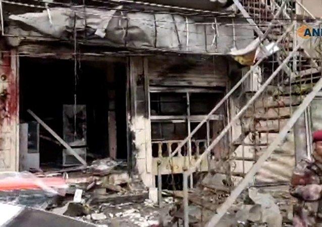 敘利亞曼比季恐襲