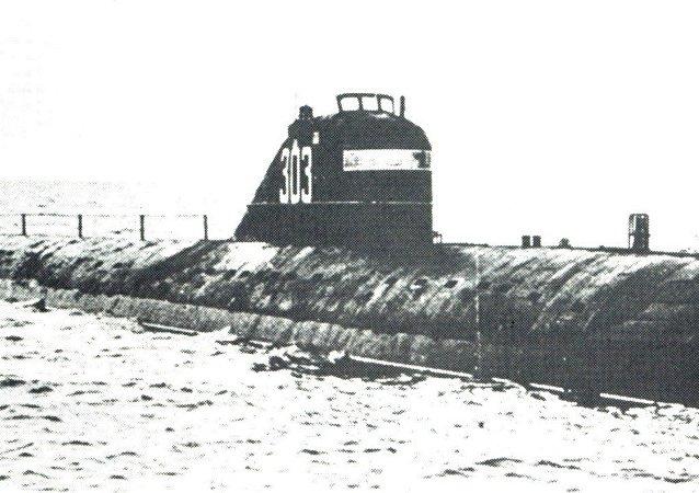 """""""列宁共青团员号""""核潜艇"""
