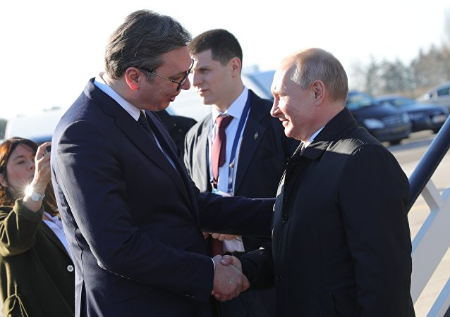 普京抵達塞爾維亞開啓為期一天的訪問
