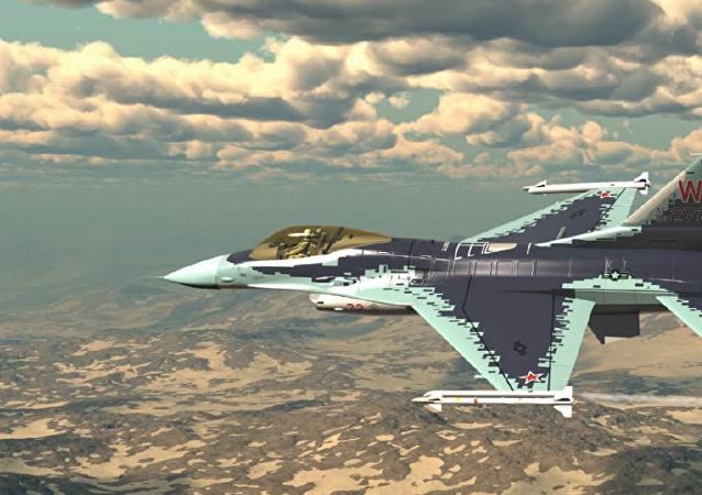 美国F-16战斗机