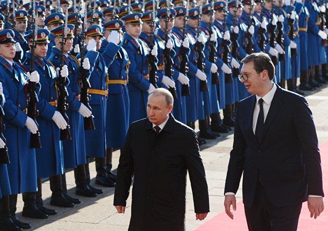 普京:俄羅斯將繼續協助塞爾維亞強化國防力量