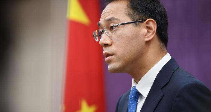 中國商務部新聞發言人高峰