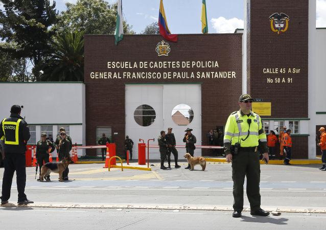 """哥伦比亚政府在首都警校遭遇恐袭后退出与""""民族解放军""""的和谈"""