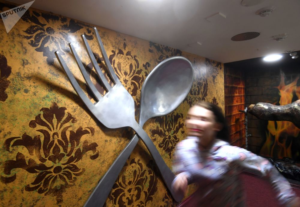游览莫斯科巨人屋