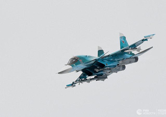 俄國防部稱,兩架蘇-34轟炸機在遠東失事,機組彈射逃生