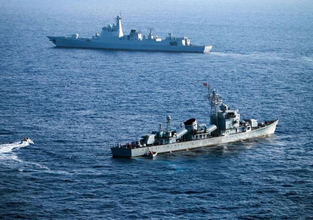 中国巡逻船驶入青森县附近日本领海