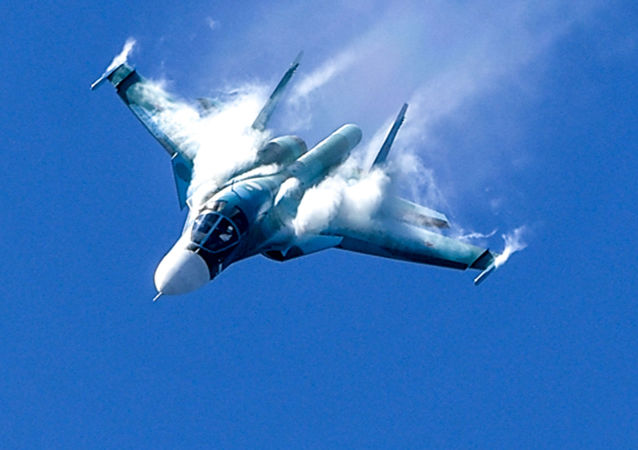 蘇-34戰機(圖片資料)