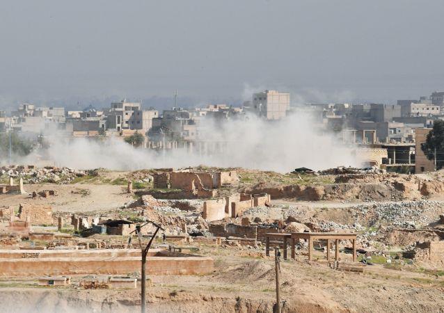 敘利亞媒體:國際聯軍空襲致死人數上升至31人