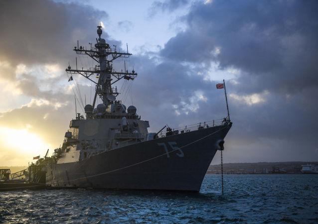美国唐纳德·库克号驱逐舰