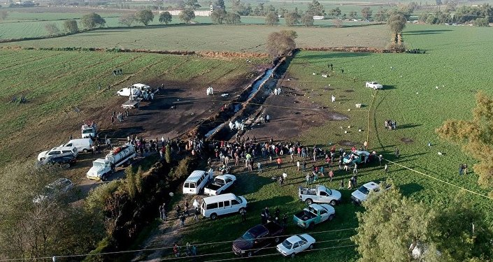 墨西哥油管爆炸事件已造成76人死亡
