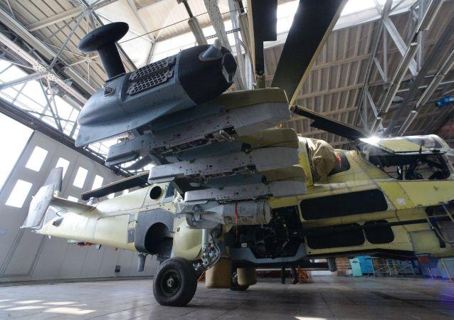 """俄""""卡莫夫""""设计局开始制造新型的无人直升机"""