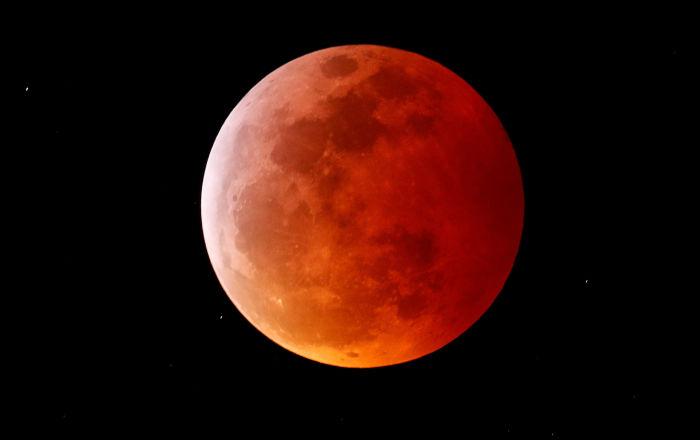 世界各国血月月食