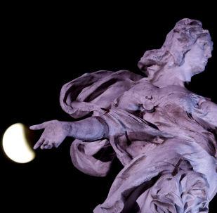 世界各國血月月食
