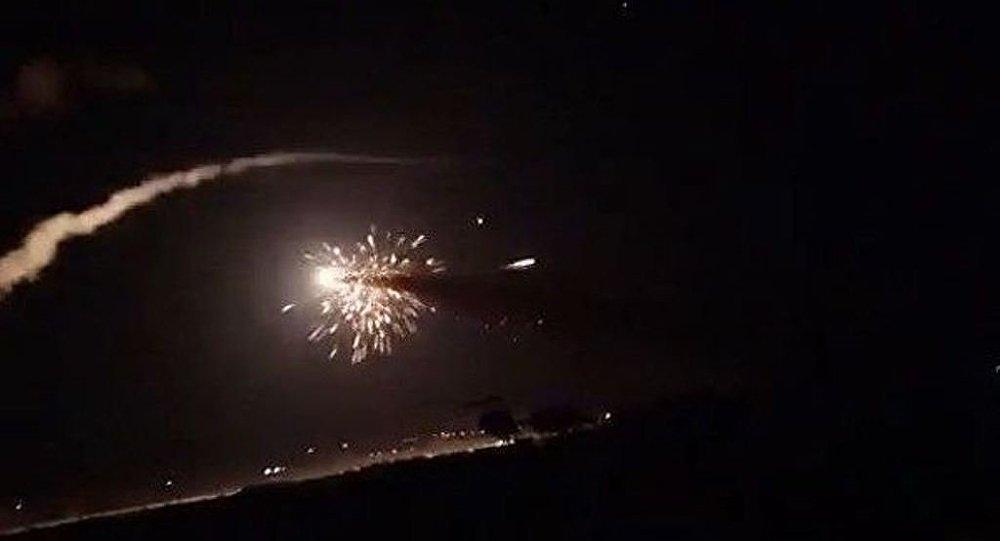 以色列空軍對敘利亞實施3次空襲 致4名敘軍人死亡