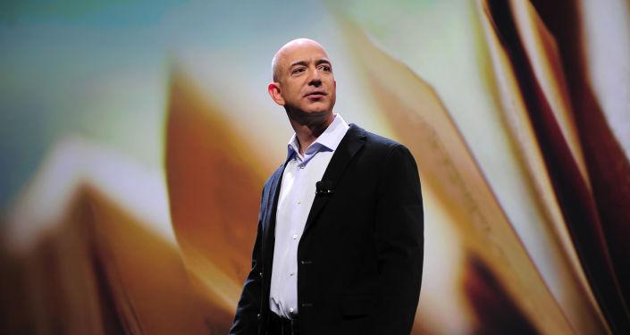美国亚马逊公司创始人杰夫∙贝佐斯