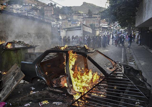 非政府组织:委内瑞拉3天抗议活动期间共有152人被捕