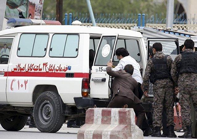 阿富汗体育场发生两起爆炸 造成至少3死31伤