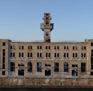 前苏联废弃海军武器测试站