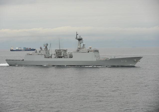 韩国海军舰艇