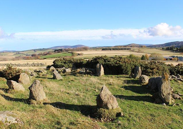 苏格兰一块科学家研究过的古石碑竟然是假的