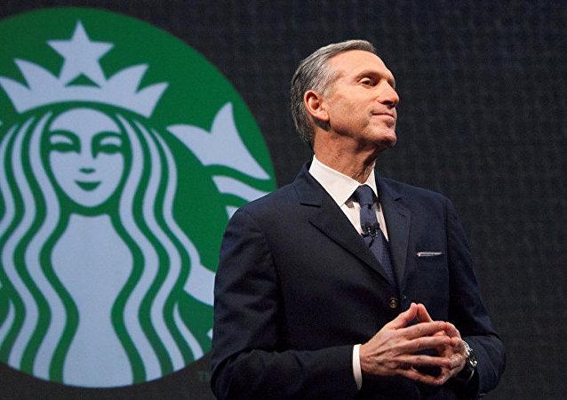 美國星巴克連鎖咖啡公司前任首席執行官霍華德·舒爾茨
