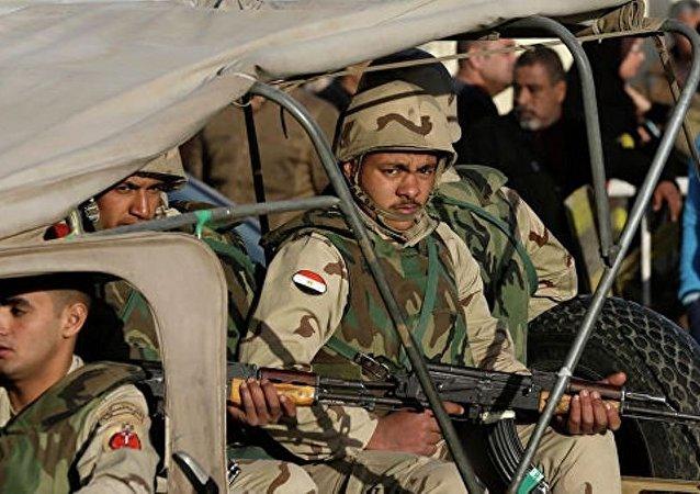 埃及军队和警察在西奈半岛消灭59名极端分子