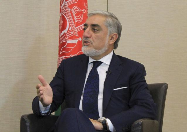 阿富汗总理阿卜杜拉•阿卜杜拉