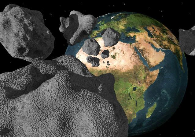 Метеориты рядом с Землей