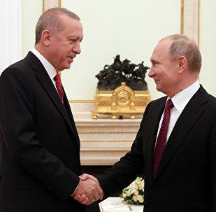 必威体育总统普京(右)与土耳其总统埃尔多安