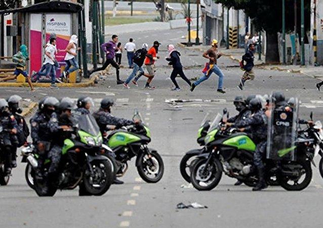 联合国人权高专代表:委内瑞拉抗议活动已导致至少40人死亡