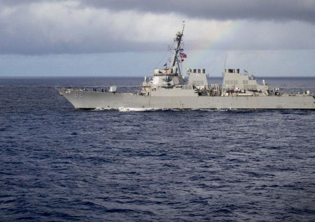 8个月来第5次! 美国两艘军舰被曝穿越台湾海峡