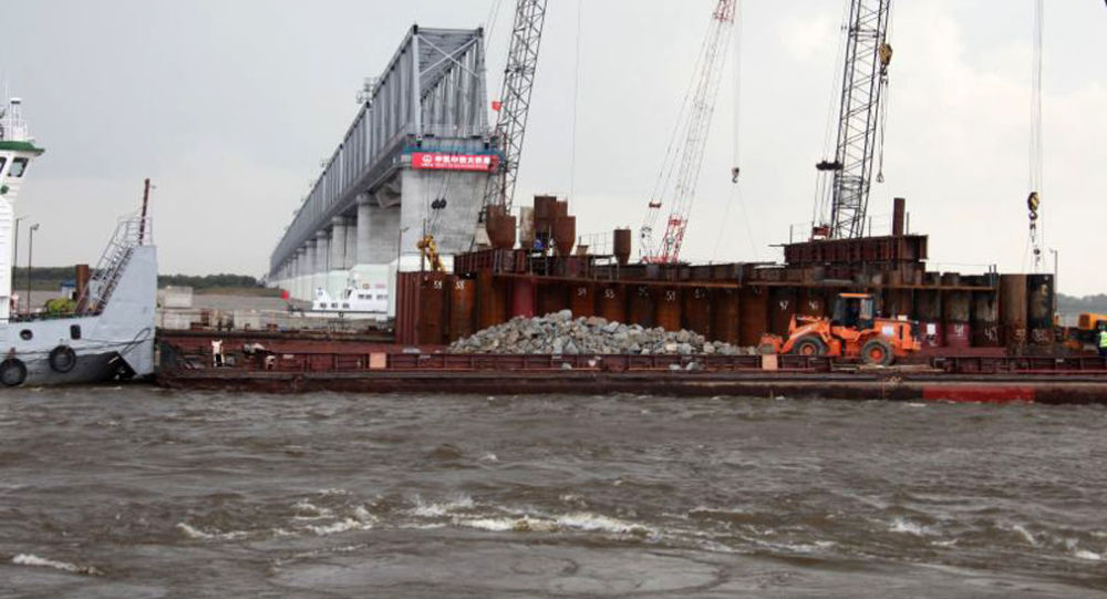 俄阿穆尔州长:俄中黑龙江大桥将于2020年4月前通车