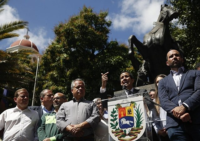 瓜伊多宣布担任临时总统前曾秘访美哥巴三国