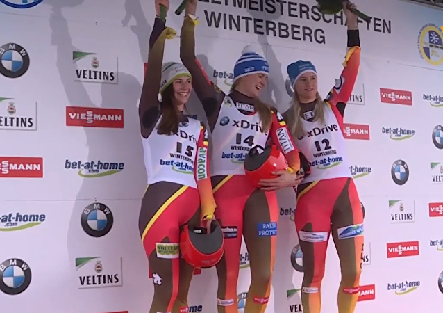 無舵雪橇世界杯在德溫特貝格開幕