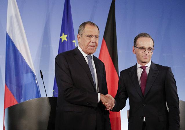 俄德外長對德政府向列寧格勒大圍困幸存者撥款1200萬歐元的決定表示歡迎